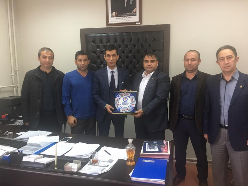 Sekreterlik Kadrosuna Atanan Üyelerimize Ziyaret